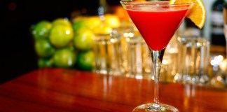The Perfect Purée Blood Orange Bubbler cocktail recipe