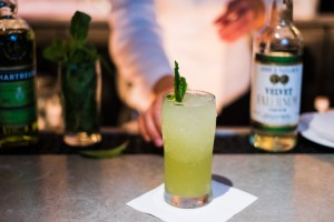 Le Zoo Chartreuse Swizzle cocktail recipe