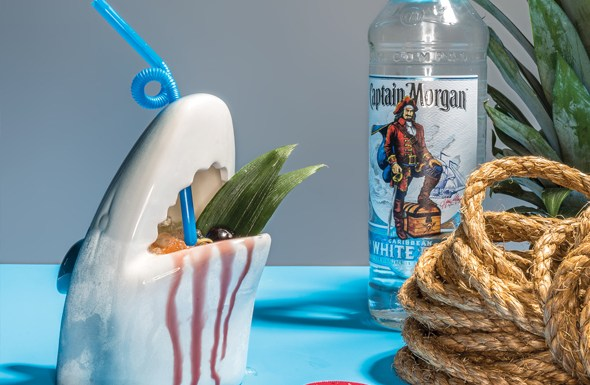 Captain Morgan The Great White cocktail recipe