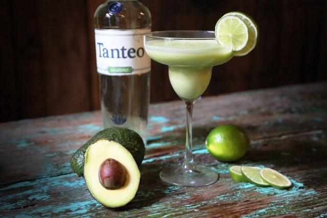 Tanteo Tequila Jalapeño Avocado Margarita cocktail recipe