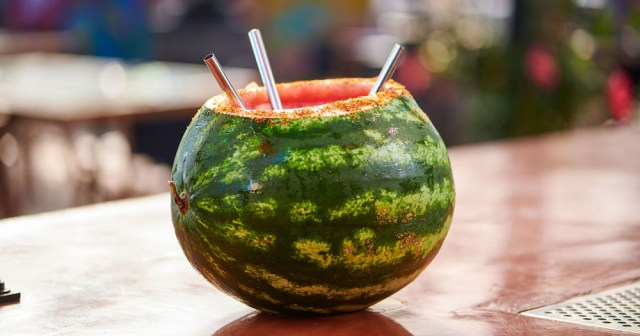 El Jardin Cantina One in a Melon cocktail recipe