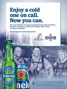Heineken 0.0 first responders