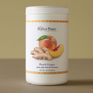 Peach Ginger Puree The Perfect Purée
