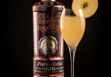 Puerto de Indias Orchard Fizz cocktail recipe