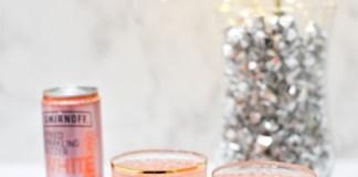 Smirnoff Ginger Peach Smash cocktail recipe