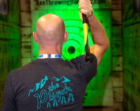 Axe Throwing Cutting Edge