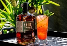 Knob Creek Red All Over cocktail recipe