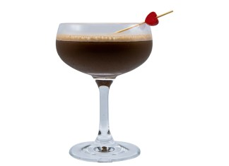 Chocolate Heart Cocktail recipe Monin