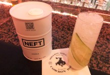 NEFT Vodka The Wild Bill cocktail recipe