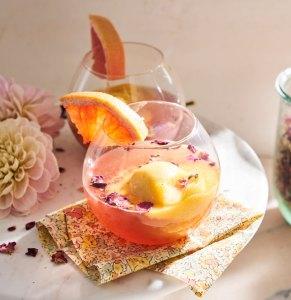 Taffer's Mixologist Mango + Grapefruit Strawberry Float