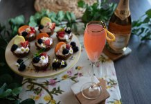 Korbel Grapefruit Mimosa mother's day cocktail recipe