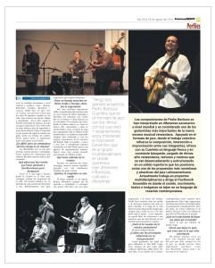 Press News Barboza Music, Pedro Barboza Cuarteto Express News, London UK