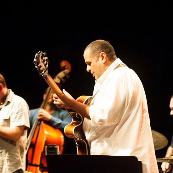 Noches de Guataca, Pedro Barboza Cuarteto en el Teatro el Transnocho, con Heriberto Rojas, Gilles Grivolla y Abelardo Bolaño. Caracas Venezuela.