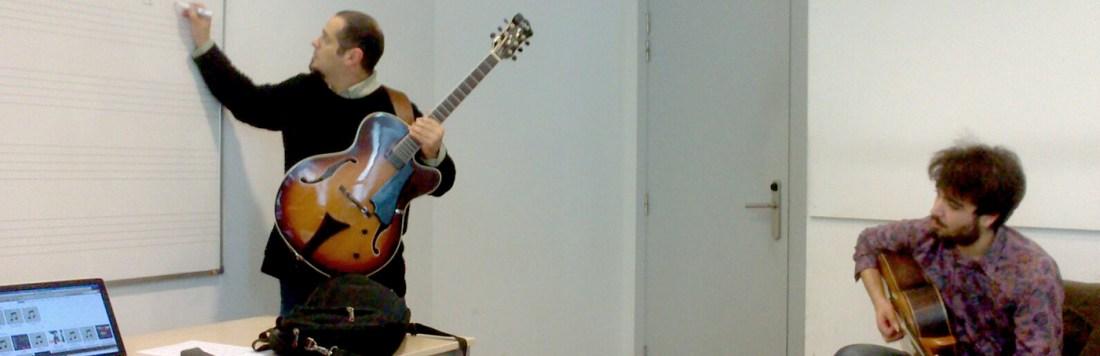 Taller Ritmos e Improvisación en La Música Afro Venezolana, Profesor Pedro Barboza