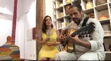 Aurora Arteaga y Pedro Barboza en Cesta República, Madrid 2019