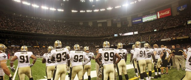 Super Dome is back to Football!