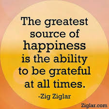 Grateful - Zig Ziglar quote