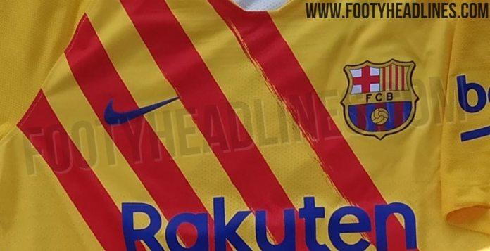 Vierde tenue FC Barcelona 2019/20