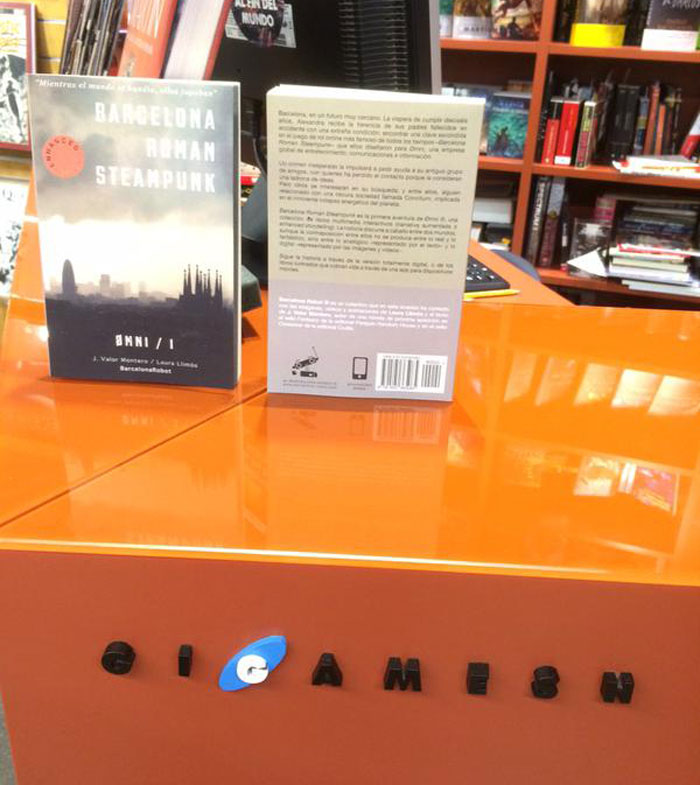 barcelona roman steampunk gigamesh