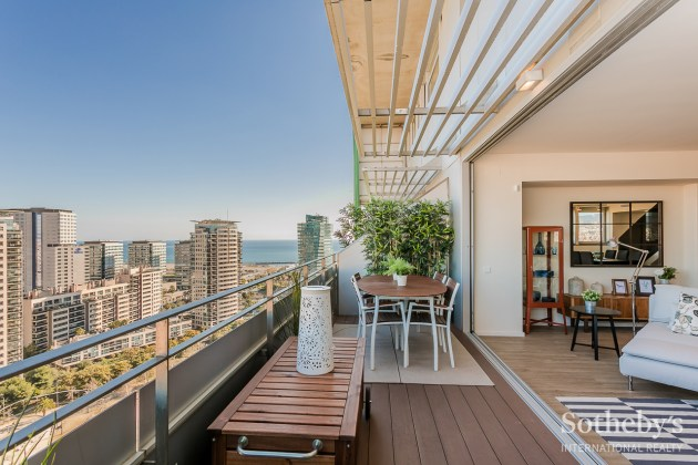 Duplex penthouse in the exclusive area of ​​Diagonal Mar Diagonal Mar, Barcelona
