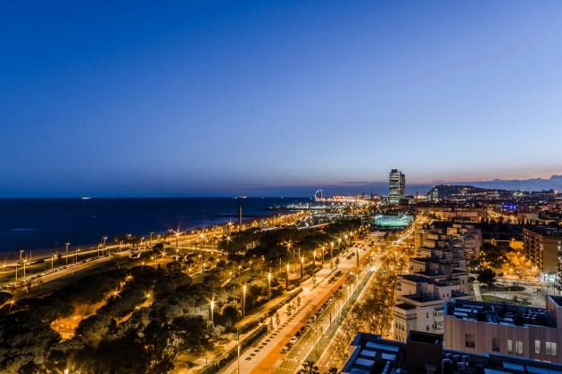 viviendas con vistas panorámicas Barcelona