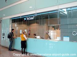 Bureau De Change At Barcelona Airport Currency Exchange
