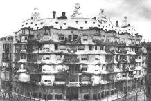 Casa Milà early 20th century