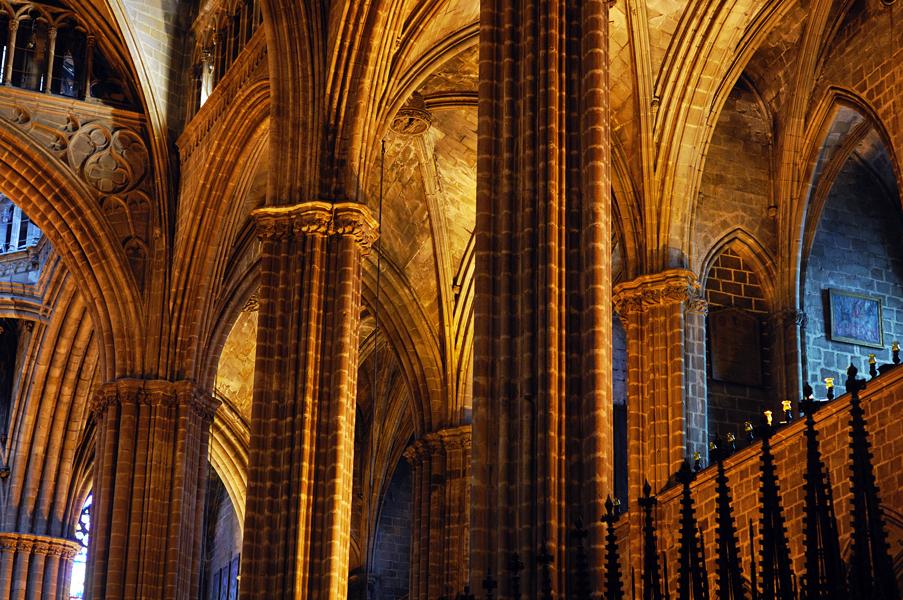 La Seu Cathedral Architecture, Barcelona