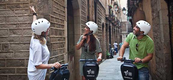 Ervaar Barcelona tijdens een Segway Tour