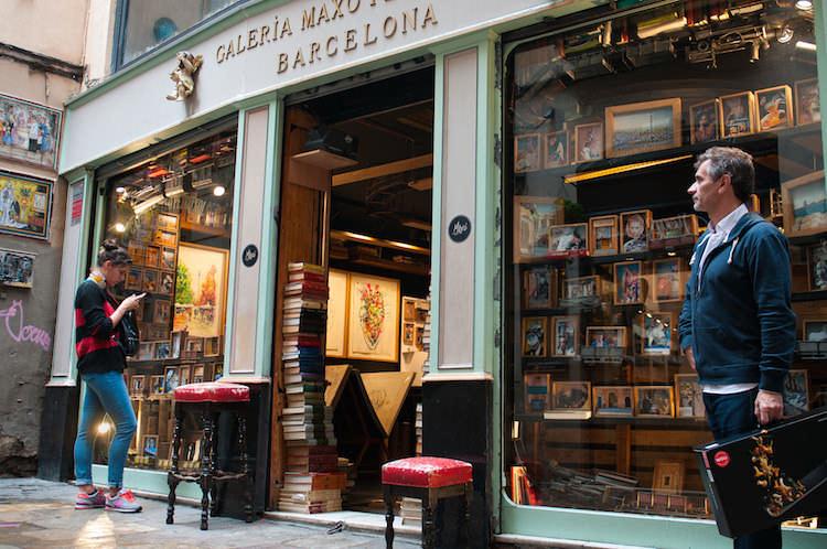 Barcelona shoppen wijk El Born