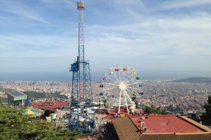 Tibidabo in Barcelona