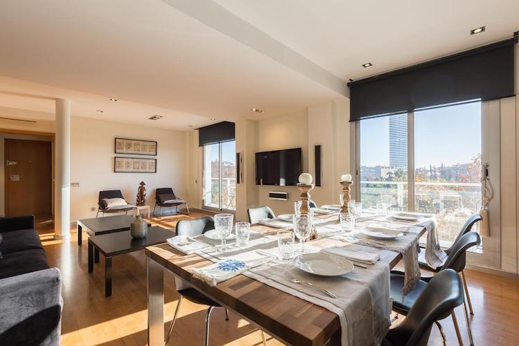 appartement barcelona beach penthouse