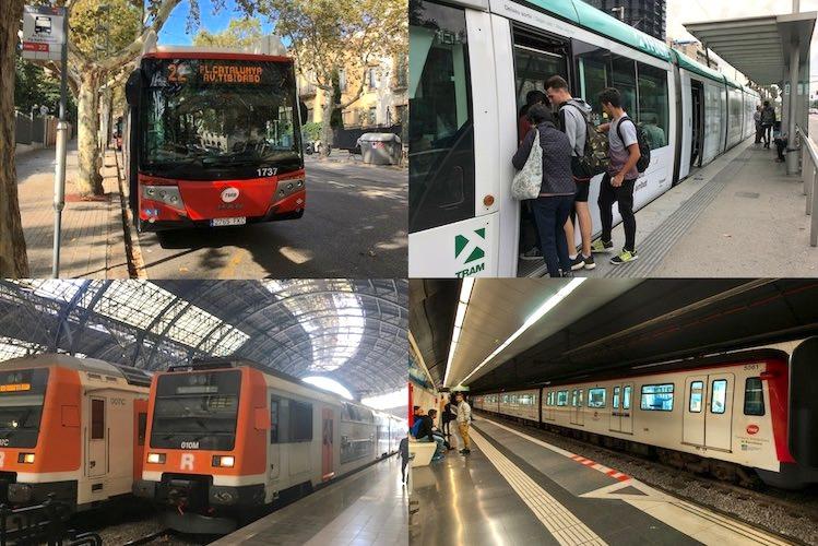 openbaar vervoer bus tram trein metro