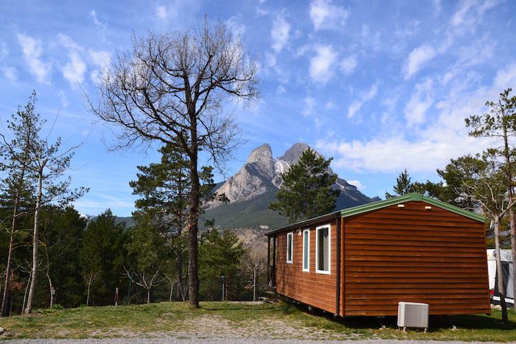 camping pedraforca - bungalow berg