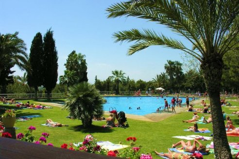 camping villanova park zwembad