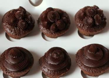 Chocola, bruin, wit