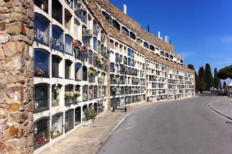 begraafplaats montjuic Barcelona