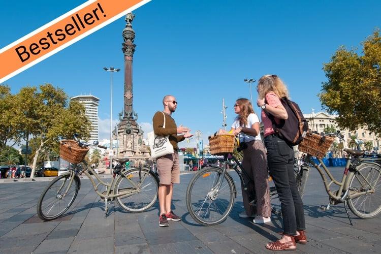 Privé fietstour met gids door Barcelona