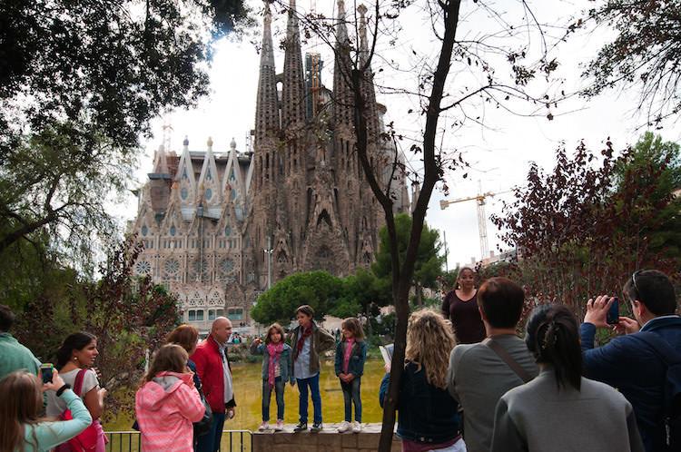 Bezoek Sagrada Familia stedentrip tickets kinderen