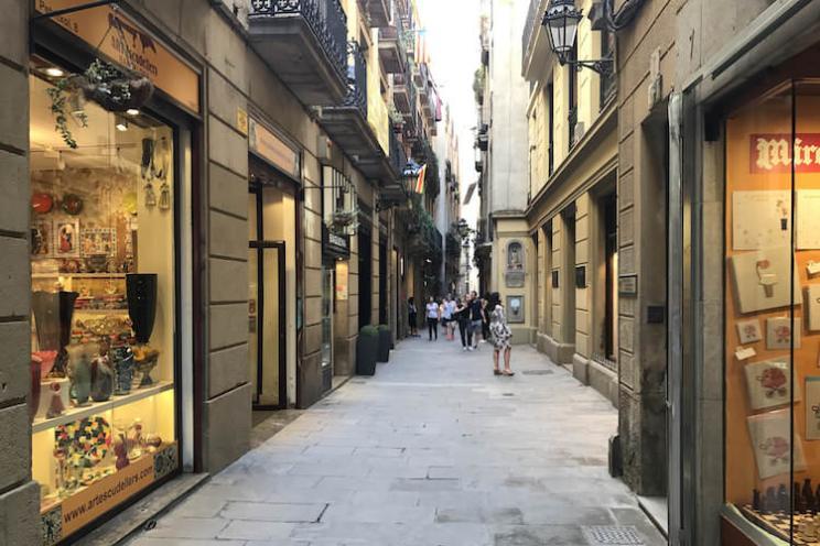 Carrer Peritxol Barcelona gotische wijk