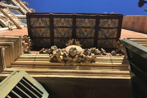 Details bij Casa de les Punxes
