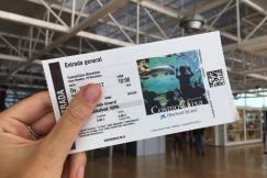 Het toegangskaartje van CosmoCaixa