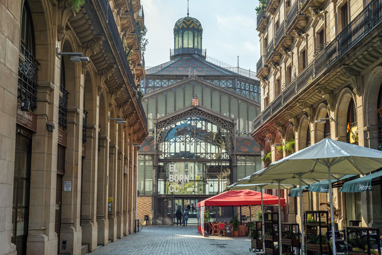 El Born CCM oude markthal Barcelona