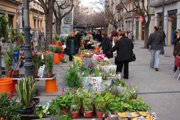Girona Rambla Catalonië dagtrip Barcelona