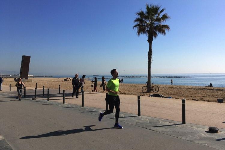 hardlopen strand