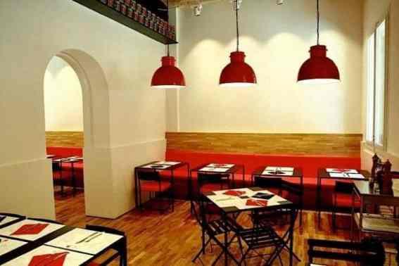 Binnenkant restaurant Nap