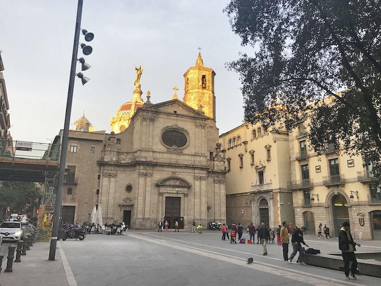kerk van La Merce in Barcelona