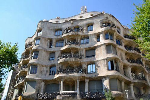 la pedrera, casa mila Barcelona