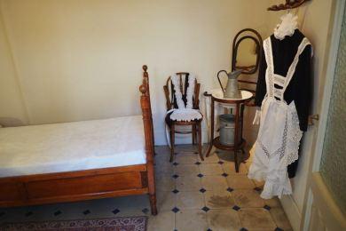 kamer van het meisje dat werkte