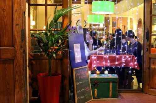 Binnenkant restaurant L'oret